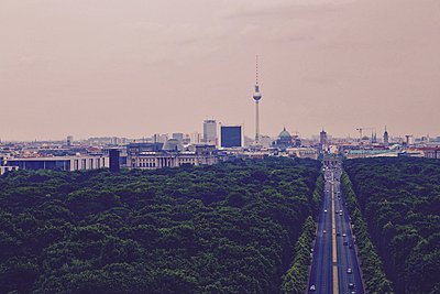 Berlin skyline - p1399m1476143 by Daniel Hischer