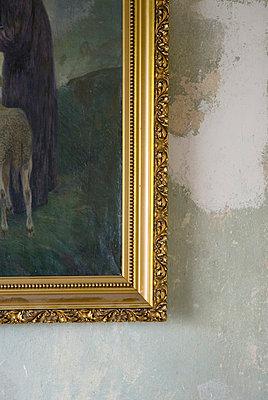 Ecke eines Bilderrahmens - p3050146 von Dirk Morla