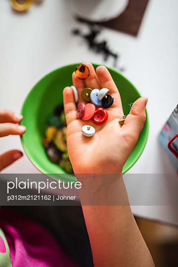 Buttons on hand - p312m2121162 by Johner