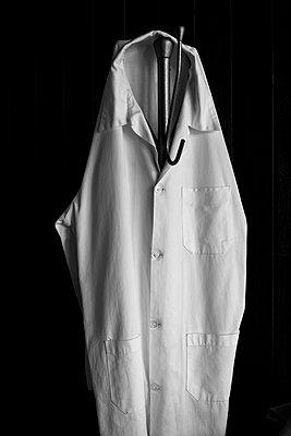 Doctor's white coat - p1170m1111615 by Bjanka Kadic