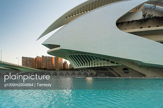 Spain, Valencia, Palau de les Arts Reina Sofía - p1332m2204564 by Tamboly