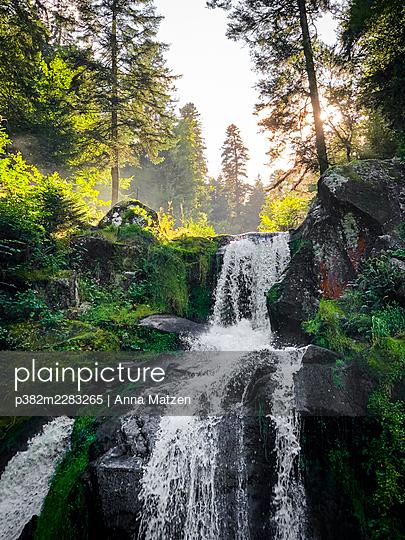 Triberg waterfalls - p382m2283265 by Anna Matzen