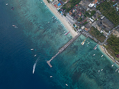 Aerial view, Nusa Penida - p1108m2090349 by trubavin