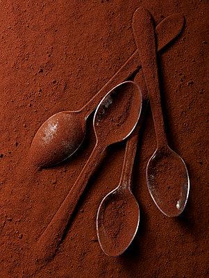 Cocoa powder - p953m972548 by Benoit Audureau
