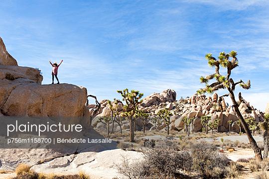 Palm Springs - p756m1158700 von Bénédicte Lassalle