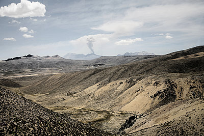 Landscape in the near of Chivay - p1038m1563951 by BlueHouseProject
