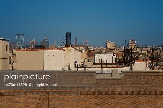 Über den Dächern von Brooklyn - p470m1152810 von Ingrid Michel