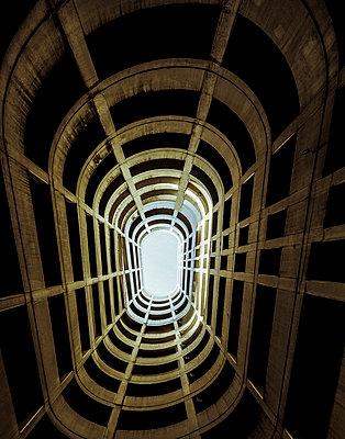 Futuristic structure - p1228m1044272 by Benjamin Harte