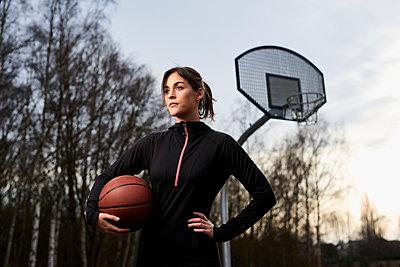 Basketball - p890m1214169 von Mielek
