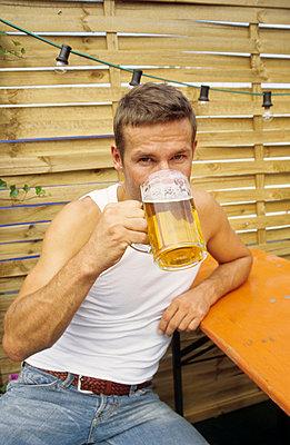 Ein kühles Bier - p0451606 von Jasmin Sander