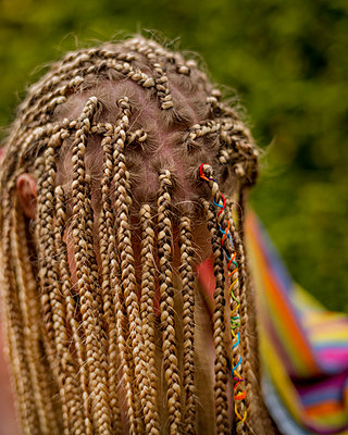 Woman with dreadlocks - p1508m2099882 by Mona Alikhah