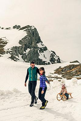 Winterurlaub - p081m1137272 von Alexander Keller