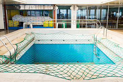 Covered swimming pool on deck - p280m1111789 by victor s. brigola