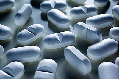 Close-up of pills - p4130778 by Tuomas Marttila