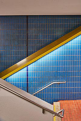 U-Bahn Station - p1119m1424335 von O. Mahlstedt