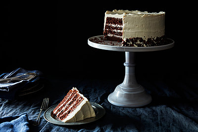 slice of cake - p1379m1525440 by James Ransom