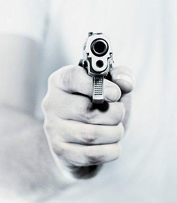 Gun, close-up - p3721984 by David Torrence Photography