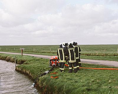 Feuerwehrübung - p1085m876984 von David Carreno Hansen