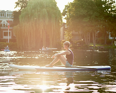 Outer Alster Lake - p1124m1055768 by Willing-Holtz