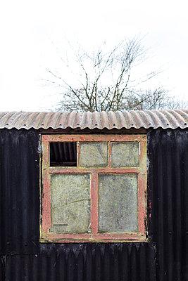Corrugated iron - p1057m1122687 by Stephen Shepherd