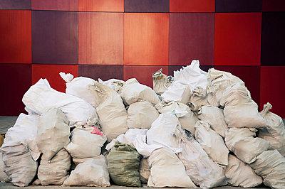 modern art piece in 798 art zone; beijing, china - p44213240f by Keith Levit