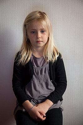 Shy - p522m1031090 by Pauline Ruhl Saur