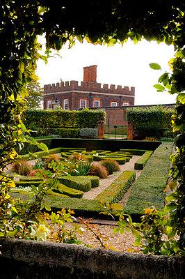 Hampton Court Palace and gardens - p6521009 by John Warburton-Lee