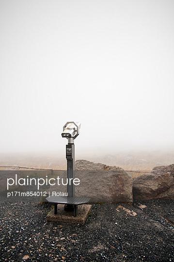 Nebel auf dem Brocken - p171m854012 von Rolau