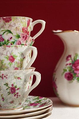 Vier Kaffeetassen - p8370011 von Cornelia Hediger