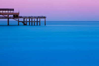 Deal pier, in the coastal resort of Deal - p6521774 by Katie Garrod