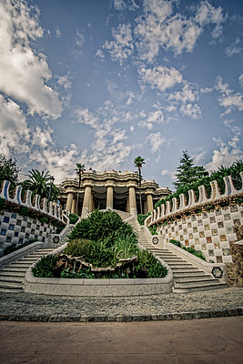Spain, Barcelona, Park Güell - p1402m2219822 by Jerome Paressant