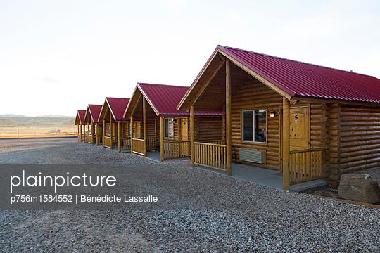 Blockhütten - p756m1584552 von Bénédicte Lassalle