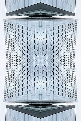 Abstract Architecture Kaleidoscope Cologne - p401m2217513 by Frank Baquet
