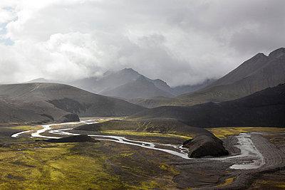 Mäandernder Fluss - p56710876 von Thierry Guillaume