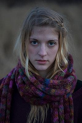 Winterblues - p1066m1122629 von Ulrike Schacht