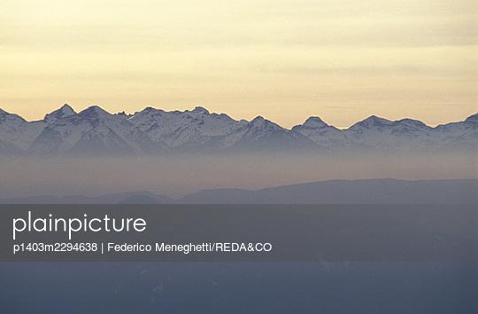 Mendola mountain pass. Trentino Alto Adige. Italy - p1403m2294638 by Federico Meneghetti/REDA&CO
