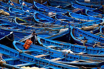 Fischerboote im Hafen von Essaouira - p6120246 von Pierre c.