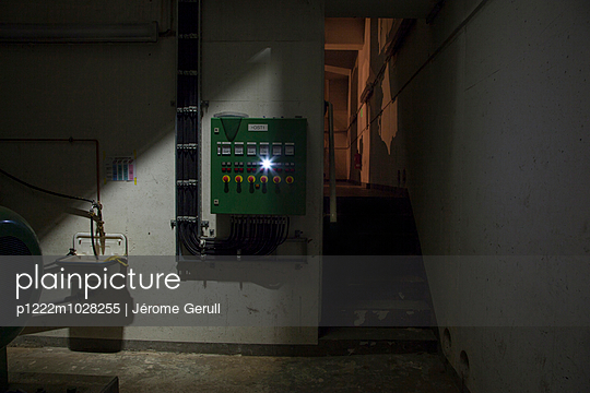 Pumpwerk, Hebewerk - p1222m1028255 von Jérome Gerull