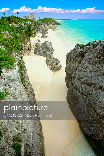 A Tropical Beach, Tulum, Mayan Riviera, Mexico