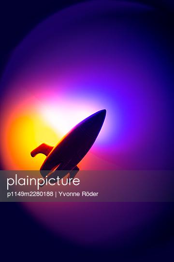 Spaceship miniature - p1149m2280188 by Yvonne Röder