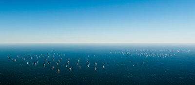 Offshore windfarm, Domburg, Zeeland, Netherlands - p429m1569372 by Mischa Keijser