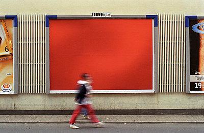 Werbelücke - p0671064 von Thomas Grimm