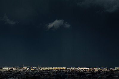 Stormy weather at Lyon - p910m2127862 by Philippe Lesprit