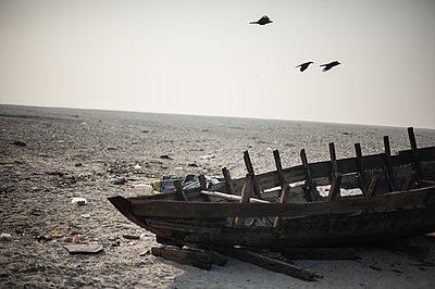 Boat wreck - p1007m1059992 by Tilby Vattard