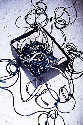 Aufbewahrung von Kabeln - p1149m2197052 von Yvonne Röder
