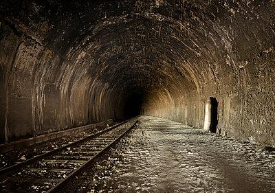 Old railway tunnel - p1132m1222096 by Mischa Keijser