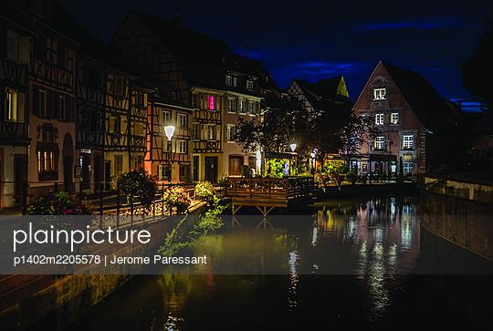 Frankreich, Colmar bei Nacht - p1402m2205578 von Jerome Paressant