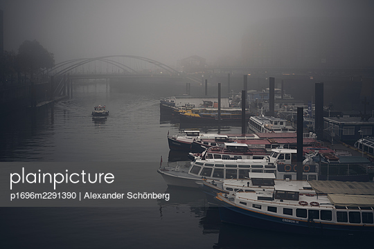 Ships in the harbour - p1696m2291390 by Alexander Schönberg