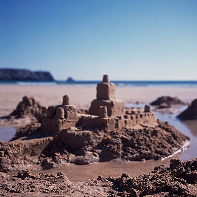 Sand castle - p26811140 by Axel Kohlhase