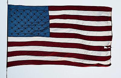 American flag - p301m960798f by Michael Mann